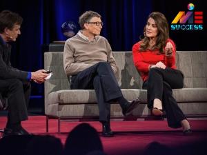 مصاحبه با بیل گیتس و ملیندا گیتس سایت موفقیت ام ای ای